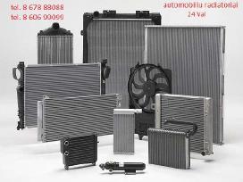 Ausinimo sistemos radiatorius tosolo vandens oro
