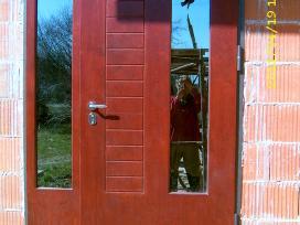 Ypač šiltos šarvuotos lauko durys. Vidaus durys.