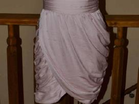 Nauja ruzava rausva progine vakarine vasarine sukn
