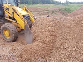 Žvyras, smėlis, skalda, akmenys, gruntas