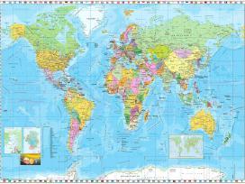 Fototapetas pasaulio žemėlapis