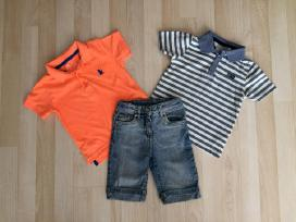 Marškinėliai ir džinsiniai šortai 92/98cm 3 vnt.