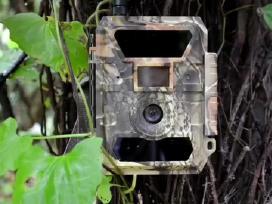 Medziokles/žvalgymo kameros
