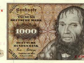 Perku vokietijos markes banknotus ir monetas