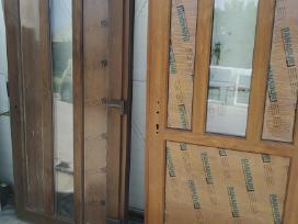 Lauko naujos Plastikines Durys.langai-pigiau