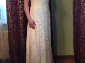 Originali išskirtinė vienetinė vestuvinė suknelė