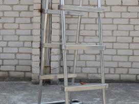 Nerūdijačio plieno turėklai! Gamyba ir montavimas! - nuotraukos Nr. 4