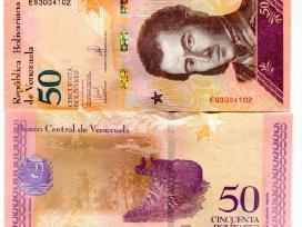 Venesuela 50 Bolivares Soberano 2018m. P105 Unc