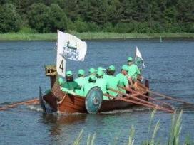 Vikingų laivai, drakonai - komandos formavimas