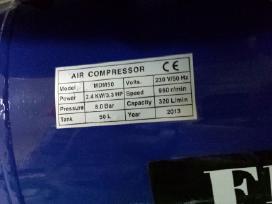 Oro kompresorius 2cilindrai/50l - nuotraukos Nr. 3