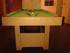 Naujas bilijardo (pulo) stalas su inventoriumi - nuotraukos Nr. 3