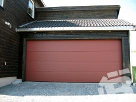 Išpardavimas. Pakeliami garažo vartai
