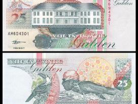 Surinamas 25 Gulden 1998m. P138 Unc