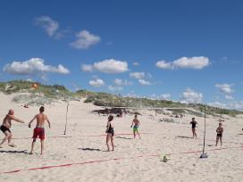 Tinklinio badmintono aikstele Mobili lengva suren.