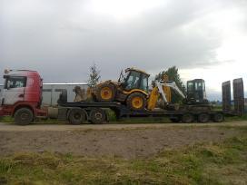 Technikos, traktoriu, ekskavatoriu gabenimas - nuotraukos Nr. 5
