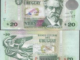 Urugvajus 20 Pesos 2011m. P86b Unc