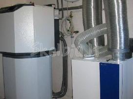 Arteziniai vandens gręžiniai, geoterminis šildymas