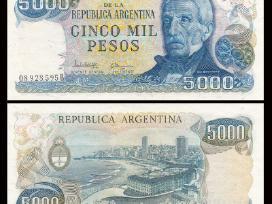 Argentina 5000 Pesos 1977-83m. P305 Unc