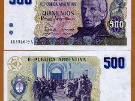Argentina 500 Pesos Argentinos 1984m. P316 Unc
