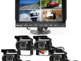 9 colių monitorius ir vaizdo kamera