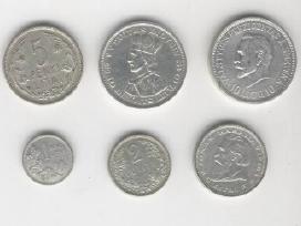 Lietuvos tarpukario sidabrinės monetos