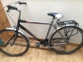 Vyriskas dviratis stabdomas pedalais