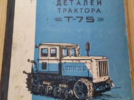 T 75 detalių katalogas, 1961 m.