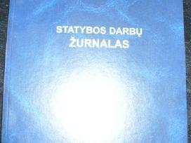 Statybos darbų žurnalai pigiausiai Lietuvoje