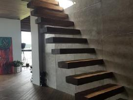 Laiptai - Projektavimas / Gamyba / Montavimas