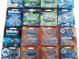 Gillette skutimosi peiliukai pigiau vilniuje