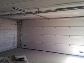 Garažo vartų remontas, profilaktika