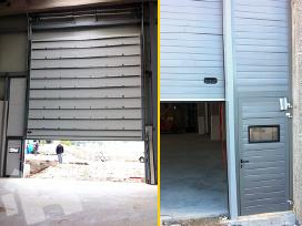 Išpardavimas. Pakeliami garažo vartai - nuotraukos Nr. 5