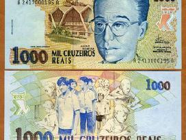 Brazilija 1000 Cruzeiro Reais 1993m. P240 Unc