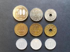 Japonijos monetos