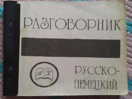 Pasikalbėjimžodynėlis rusų -vokiečių 1991m. Maskva