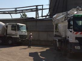 Betono siurblys /prekinio betono gamyba