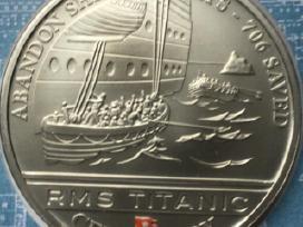 Moneta cook islands 2012m. 1 dollar, cu-ni