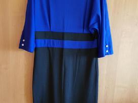 Mėlynai juoda suknelė