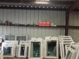 Nauji plastikiniai langai ir durys
