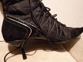 Karnavaliniai batai juodi aukštakulniai