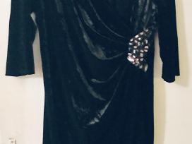 Barchatinė suknelė