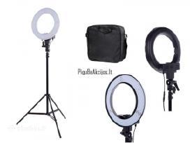 Žiedinė Led makiažo - fotografavimo lempa 40w Do