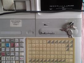 Naudotą veikiantį Casio Tk- 2300 kasos aparatą