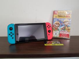 Nintendo Switch + Super Mario Maker 2