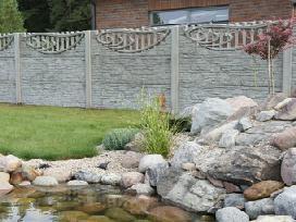 natūralaus betono tvora - nuotraukos Nr. 18