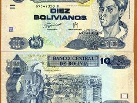 Bolivija 10 Bolivianos 1998(2015)m. P228 Unc
