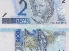 Brazilija 2 Reals 2009m. P249 Unc