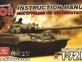 Tankas T-72 (Rc model 1:16)-160€