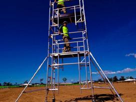 Pigi aliuminių bokštelių nuoma - pardavimas