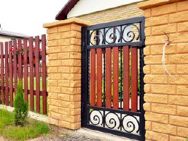 Patikimi stumdomi ir atveriami kiemo vartai!